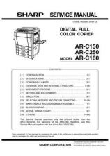 Buy Sharp ARC170M PG GB(1) Service Manual by download Mauritron #208179