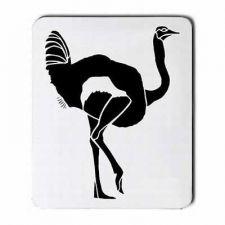 Buy Ostrich Bird Art Computer Mousepad Mouse Pad