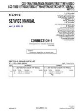 Buy Sony CCD-TR84-94 Service Manual by download Mauritron #237130
