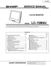 Buy Sharp LC15M4U Service Manual by download Mauritron #208999