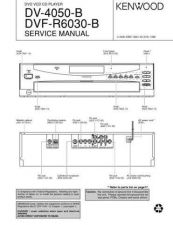 Buy KENWOOD DV-4050B DVF-R6030B Technical Information by download #118599