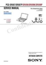 Buy Sony PCG-GRZ530 Service Manual. by download Mauritron #243339