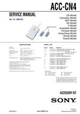 Buy Sony AC-VQ850D Service Manual by download Mauritron #236750