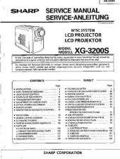 Buy Sharp. XG-NV3XU_3 Service Manual by download Mauritron #211976