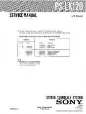Buy Sony PS-LX120 Service Manual by download Mauritron #232285