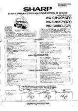 Buy Sharp. WQCH400H-L-450H_SM_GB-DE-FR(1) Service Manual by download Mauritron #2