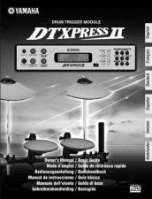 Buy Yamaha DTXPRESSIIF1 Operating Guide by download Mauritron #247645