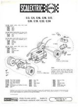 Buy Scalextrix No.00S04 Electra Service Sheets by download Mauritron #206292