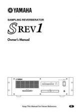Buy Yamaha SREV1E Operating Guide by download Mauritron #249965