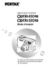 Buy PENTAX OPTIO330430 FRE OPM CAMERA INSTRUCTIONS by download #119088