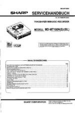 Buy Sharp MDMT180H SM DE Service Manual by download Mauritron #210033
