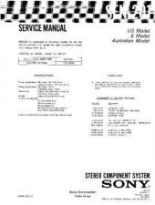 Buy Sony SEN-201 Service Manual by download Mauritron #232373