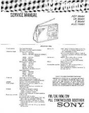Buy Sony ICF-7600DS Service Manual. by download Mauritron #241504