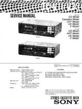 Buy Sony TCM-230DV Service Manual. by download Mauritron #245415