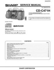 Buy Sharp CDC471H Service Manual by download Mauritron #208515