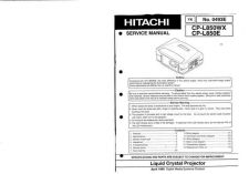 Buy Hitachi YK-0493E Service Manual by download Mauritron #265781
