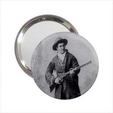 Buy Calamity Jane Western Hero Round Handbag Purse Mini Mirror