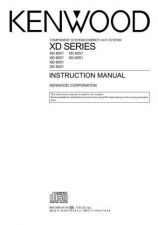 Buy Kenwood XD-700 Operating Guide by download Mauritron #219941