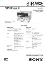 Buy Sony ST-SA50ES Service Manual. by download Mauritron #245192