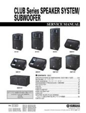 Buy JVC CLUB SERIES-S_C Service Manual by download Mauritron #255046