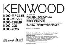 Buy Kenwood KDC-226 Operating Guide by download Mauritron #221528