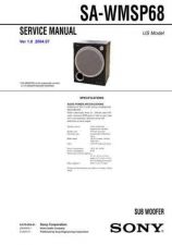 Buy Sony SA-WM40 Technical Manual. by download Mauritron #243783