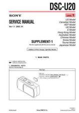 Buy Sony DSC-U30 by download Mauritron #240345