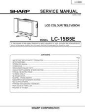 Buy Sharp LC15B5H (1) Service Manual by download Mauritron #209847