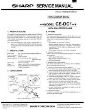Buy Sharp CEDC1 Technical Information by download Mauritron #232810