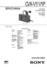Buy Sony CVX-V1 V1P Service Manual by download Mauritron #239349