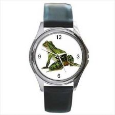 Buy Green Frog Art Amphibian Reptile Unisex Wrist Watch NEW
