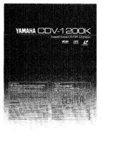 Buy Yamaha CDV-1700 Operating Guide by download Mauritron #247004