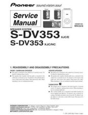 Buy Pioneer S-DV353 by download Mauritron #228144