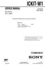Buy Sony ICKIT-W1 Service Manual. by download Mauritron #241663