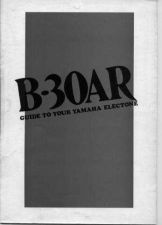 Buy Yamaha B4 EN Operating Guide by download Mauritron #246830