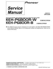 Buy Pioneer C2336 Manual by download Mauritron #227215