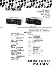 Buy Sony XR-3753C353 Service Manual. by download Mauritron #246098