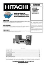 Buy Sony AXF100UC Service Manual by download Mauritron #236805