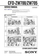 Buy Sony CFD-ZW700-ZW705 Service Manual by download Mauritron #238865