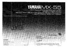 Buy Yamaha MX-2 Operating Guide by download Mauritron #248900