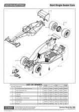 Buy Scalextrix No.458 Start Single Seater Service Sheets by download Mauritron #206