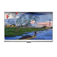Buy Ando Hiroshige Japanese Art Business Credit Card Case Holder