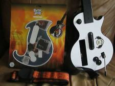 Buy Wii GIBSON LES PAUL GUITAR HERO CONTROLLER White FREE GH WRAP & Strap