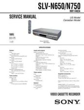 Buy Sony SLV-N51 Technical Manual. by download Mauritron #243972