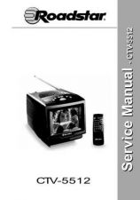 Buy Hitachi CTV-5512 Service Manual by download Mauritron #261654
