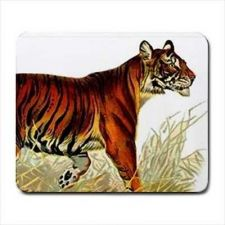 Buy Tiger Wildcat Art Computer Mouse Pad