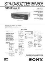 Buy Sony STR-DA3ESDA5ES Service Information by download Mauritron #238156