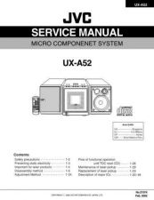 Buy JVC UX-A52 Service Manual by download Mauritron #220743