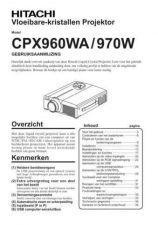 Buy Hitachi CP-X1200WA PT Manual by download Mauritron #224742