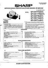 Buy Sharp QTCD77H-E-A-L-177H -DE Service Manual by download Mauritron #210246